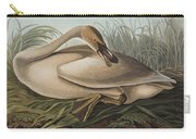 Trumpeter Swan Carry-all Pouch by John James Audubon