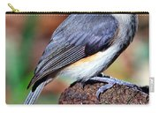 Tufted Titmouse Parus Bicolor Carry-all Pouch