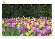 Tulip Flowers In A Garden, Chicago Carry-all Pouch