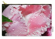 Tulip Lace Carry-all Pouch by Felicia Tica