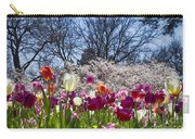 Tulips At Dallas Arboretum V94 Carry-all Pouch