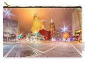 Tulsa City Skyline Around Downtown Streets Carry-all Pouch