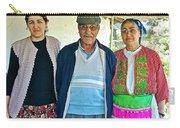 Turkish Family In Demircidere Koyu In Kozak-turkey  Carry-all Pouch