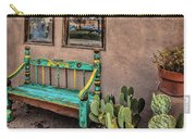 Turquoise Bench Carry-all Pouch