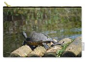 Turtle On A Raft Carry-all Pouch
