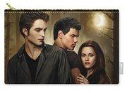 Twilight  Kristen Stewart And Robert Pattinson Artwork 2 Carry-all Pouch
