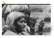 Two Elderly Apache Women Labor Day Rodeo White River Arizona 1969 Carry-all Pouch
