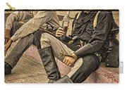 Two Of A Kind Carry-all Pouch by Priscilla Burgers