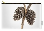 Two Pine Cones One Twig Carry-all Pouch