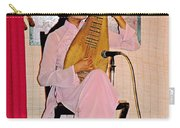 Two-stringed Lute Player At Wedding Ceremony Show In Binh Quoi Village-vietnam  Carry-all Pouch