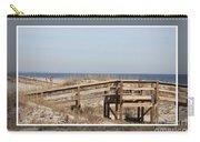 Tybee Island Boardwalks Carry-all Pouch