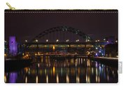 Tyne Bridge At Night Carry-all Pouch