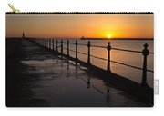 Tynemouth Pier Sunrise Carry-all Pouch
