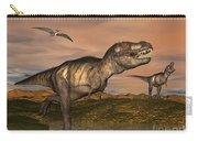 Tyrannosaurus Rex Dinosaurs Carry-all Pouch