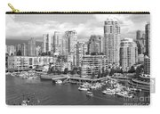 Vancouver Bc Downtown Skyline At False Creek Canada Carry-all Pouch