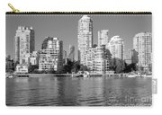 Vancouver Bc Downtown Skyline Carry-all Pouch