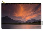 Vermillion Lakes Sunset Carry-all Pouch