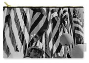 Veteran's Day Parade University Of Arizona Tucson Black And White Carry-all Pouch