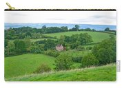 View From Glastonbury Tor Carry-all Pouch