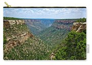 View From Sun Temple In Mesa Verde National Park-colorado  Carry-all Pouch