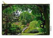 View Of A Japanese Garden Carry-all Pouch