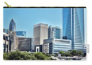 view of Charlotte North Carolina Carry-all Pouch