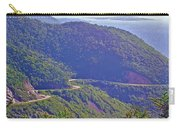 View Of Highlands Road From Skyline Trail In Cape Breton Highlands Np-ns Carry-all Pouch
