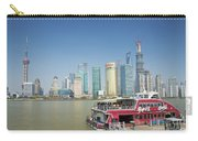 View Of Pudong In Shanghai China Carry-all Pouch