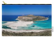 View Of The Balos Beach, Gramvousa Carry-all Pouch