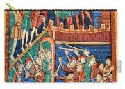 Vikings Invade England 9th Century Carry-all Pouch by Photo Researchers