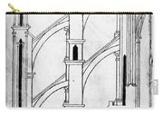 Villard De Honnecourt (c1225-1250) Carry-all Pouch