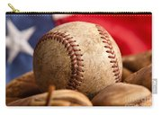 Vintage Baseball Carry-all Pouch