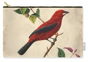 Vintage Bird Study-e Carry-all Pouch