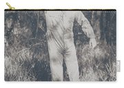 Vintage Black And White Horror Zombie Carry-all Pouch