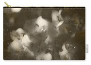 Vintage Floral Background Carry-all Pouch