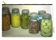 Vintage Kitchen Glass Jar Canning Carry-all Pouch