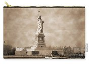 Vintage Statue Of Liberty Carry-all Pouch