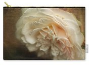 Vintage Tea Rose Carry-all Pouch