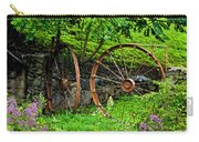 Vintage Wagon Wheel Gate Carry-all Pouch
