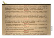 Virginia Constitution, 1776 Carry-all Pouch