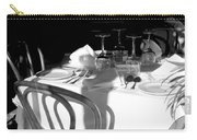Waiting For Diners Bw Carry-all Pouch