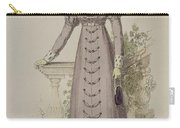 Walking Dress, Fashion Plate Carry-all Pouch