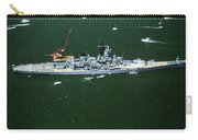 War Ship In New York Harbor, New York Carry-all Pouch