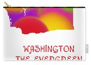 Washington State Map Collection 2 Carry-all Pouch