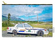 Watch Out For The Rcmp Near Destruction Bay In Yukon-canada Carry-all Pouch
