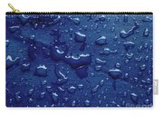Water Drops On Metallic Surface Carry-all Pouch