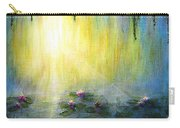 Water Lilies At Sunrise Carry-all Pouch