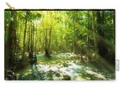 Waterfall In Rainforest Carry-all Pouch