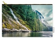 Waterfall Jervis Inlet Carry-all Pouch