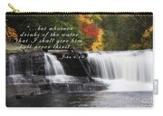 Waterfall With Scripture Carry-all Pouch